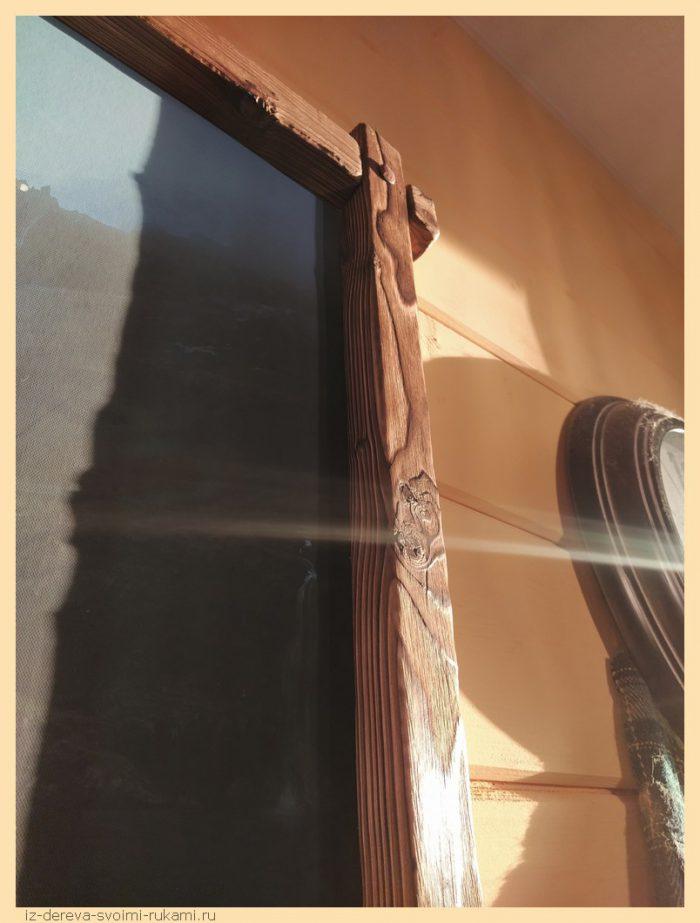 11 - Из дерева своими руками! Интересные деревянные поделки, мебель, мастер-классы по дереву - Рама для картины своими руками из сосновых брусков