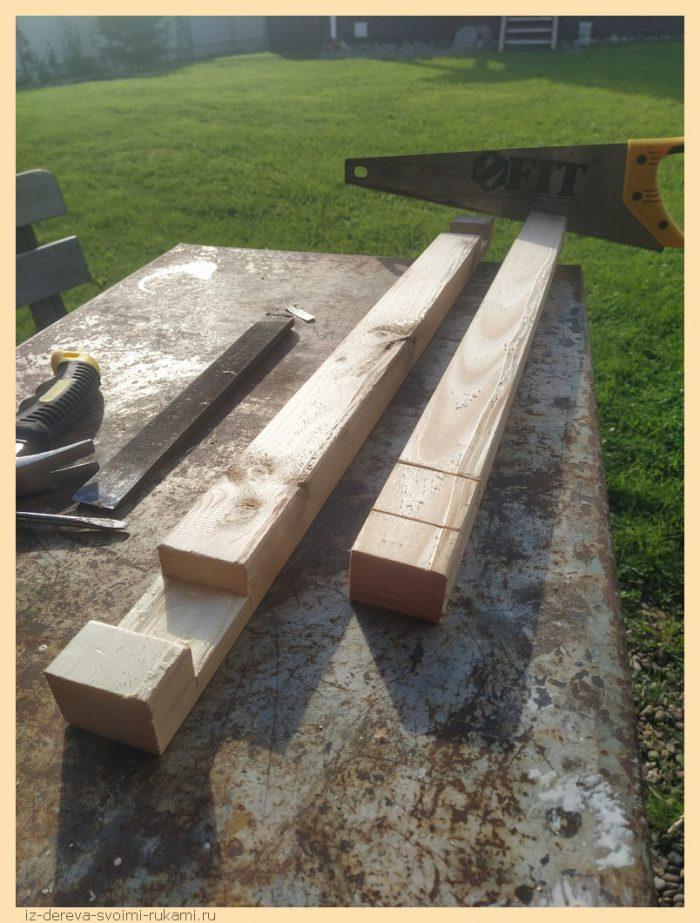 2 - Из дерева своими руками! Интересные деревянные поделки, мебель, мастер-классы по дереву - Рама для картины своими руками из сосновых брусков