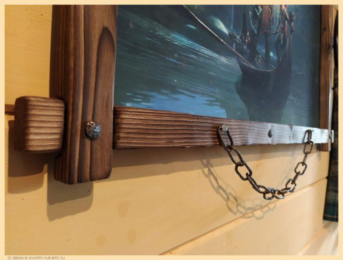 9 - Из дерева своими руками! Интересные деревянные поделки, мебель, мастер-классы по дереву - Рама для картины своими руками из сосновых брусков